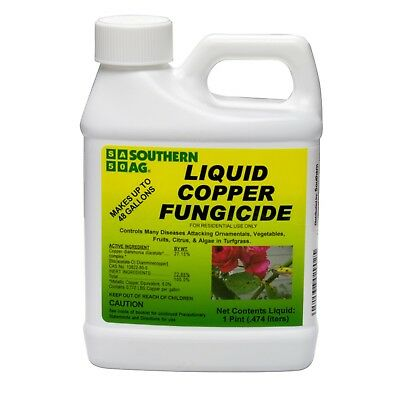 Liquid Copper Fungicide Concentrate 1 Pint For control of disease on vegetables