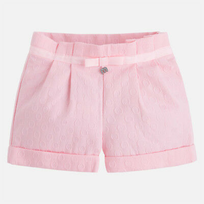 short rosa gonnellina gonna gonne stampa pois fuxia stampato mayoral bambina