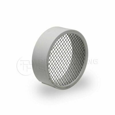 """Raven R1509 PVC Termination Vent,304 Stainless Screen with Condensation Drain,3"""""""
