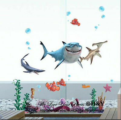 Finding Nemo Disney Wall Stickers Vinyl Decal Kids Home Nursery Decor Mural Gift