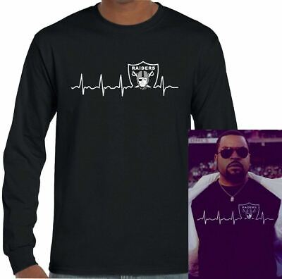 As Worn By Ice-Cube Pulse Oakland Raiders T-Shirt NWA Straight Outta Compton