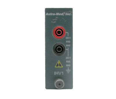 Astro-Med IHV1  Isolated, Single-Ended Voltage Mod. for DASH-8-X/Xe Recorder