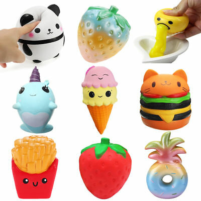Kawaii Jumbo Morbido Squishy Profumato Lentamente In Aumento Regalo Bambini IT