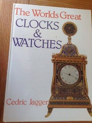 THE WORLDS GREAT CLOCKS & WATCHES 255 Page Large Coffee Table Hardback Book