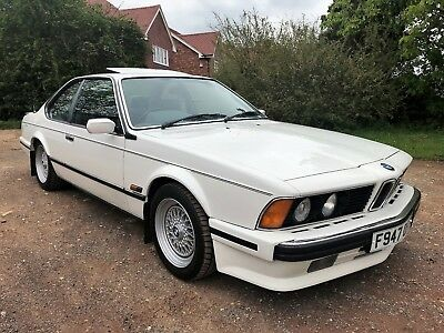 1988 BMW 635 CSi (E24) HIGHLINE+RARE MANUAL+2 OWNERS FROM NEW+WARRANTY