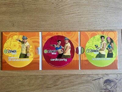 Zumba Total Body Transformation System 3 DVD And Diet Guide RRP £50