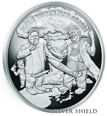 "2018 5OZ Make World War Again Proof Prophecy Series - ""Last Two"" Only 97 Minted"