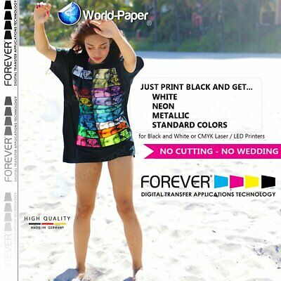 "FOREVER Flex-Soft (No-Cut) Laser/LED Heat Transfer Paper 8.5""x11"" 11""x17"""