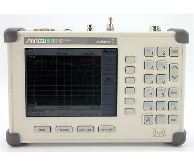 ANRITSU S820D  25 MHz to 20 GHz Cable & Antenna Analyzer