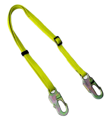 "4'-6' All Gear Adjustable 1""  POLE LINEMAN  ARBORIST CLIMBING SAFETY  STRAP"