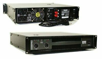 EMB EB6500 2  Channel 6500 Watts Professional Power Amplifier AMP DJ PA  Stereo