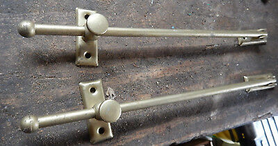 2 Lifter Rods For  Brass Colored Steel Hardware Possible Transom Window Hardware