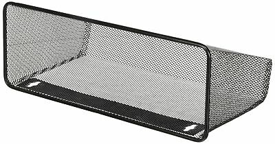 Lorell LLR84144 Mesh Wire Wall Pocket, Black