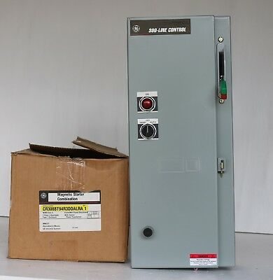 Brand New GE CR308BT94R3DDALRA (Nema Size 0) In Original Box