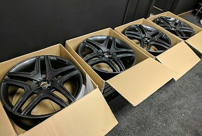 MERCEDES 5X112 ALLOY wheels AUDI Q7 MINT 22 inch anthracite E ML S
