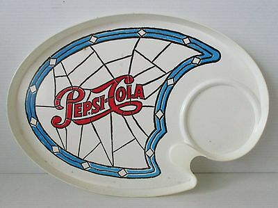 Pepsi Cola old vintage retro plastic meal tray for home bar brew or collector