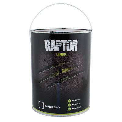 UPOL Raptor BLACK 5L Tough Urethene Coating Truck Bed Liner-Trailers-Boats-Floor