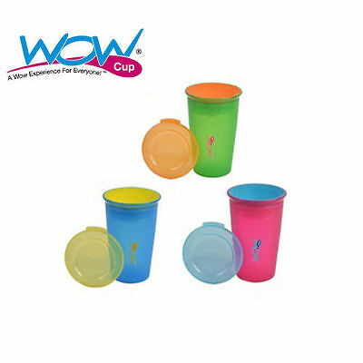 Wow Cup Spill Free 360 12 + Months New Juicy Translucent Colours