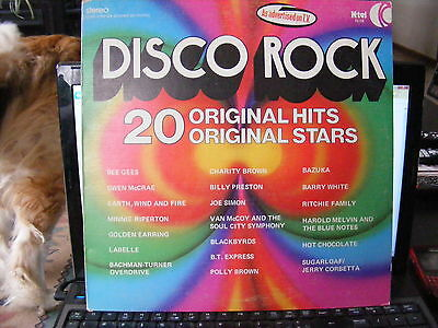 DISCO ROCK  (1975)  Vinyl  LP Record 33 rpm
