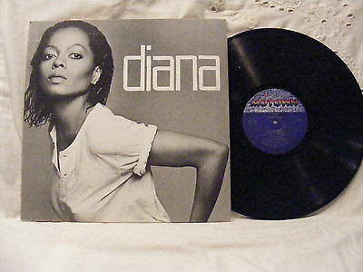 Diana Ross * Diana (1980) Vinyl  LP Record 33 rpm