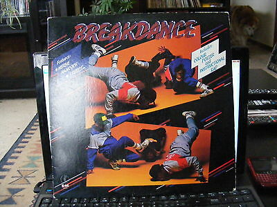 Breakdance  (1984)  Vinyl  LP Record 33 rpm