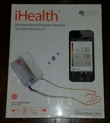 iHealth Feel Wireless Blood Pressure Monitor  Arm Reading NEW!!! Box Sealed