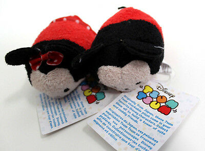 """Disney Authentic tsum tsum mini 3 1/2"""" Mickey & Minnie Mouse plush from Target"""