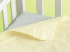 Playette Travel Cot Water Resistant Pad Embossed Sheep