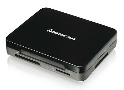 IOGEAR GUH287-01 USB2.0 Hub/Card Reader 3-Port USB2.0 45-In-1  - Black