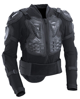FOX Titan Sport Adults Small MX Adjustable Body Armour with built in Kidney Belt