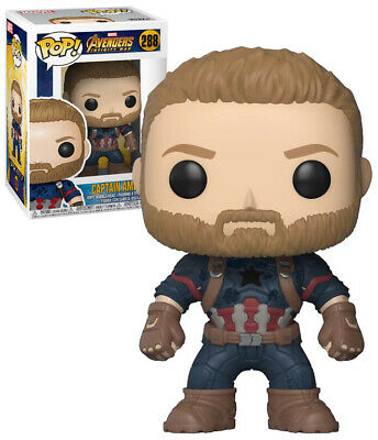 Funko Pop Marvel Avengers Infinity War Captain America #288Vinyl Figure