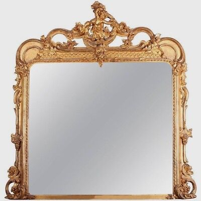 A Victorian Giltwood and Composition Wall Mirror