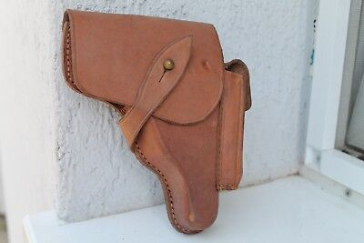 Rare Original WW2 WWII German Holster For Bulgarian Army Walther PPK