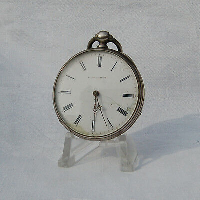 Antique Pocket Watch. Circa 1900 . Key wind.  For repair