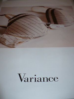 AFFICHE POSTER VARIANCE  RARE   2008              180x120cm     TBE  NON  PLIEE