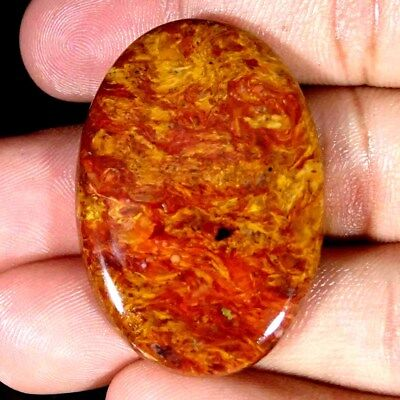 54.20Cts 100% Natural Designer Golden Pietersite Oval Cabochon Loose Gemstone