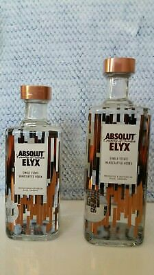 2 Flaschen Absolut Vodka Elyx