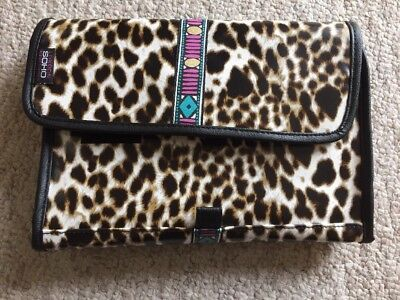 LONDON SOHO NEW YORK Weekender Travel CosmeticToiletry Bag NEW NWT