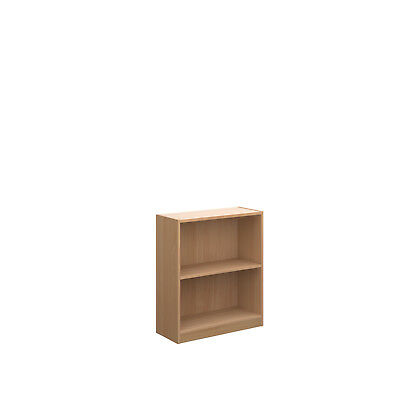 Economy Bookcases Different Sizes Supplied Flat Pack Beech Adjustable Shelves
