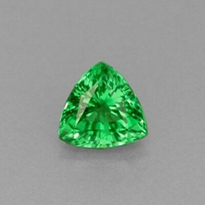 Wholesale, Natural Tsavorite Garnet, 3mm or 4mm Trillion Cut, VS Loose Stone