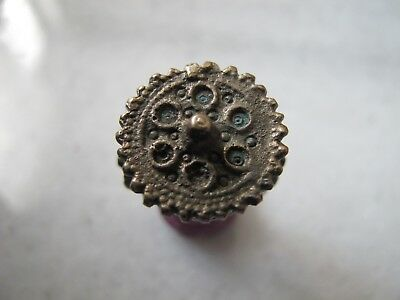 Antique Byzantine Pre Georgian Medieval Ancient Bronze ring