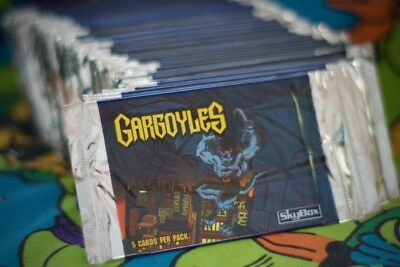 Gargoyles Vintage 90's Card Packs LOT