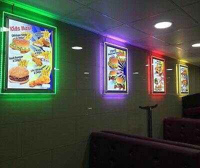Led Crystal Frame Light Box A1, A2, A3, A4 For Advertising Or Display