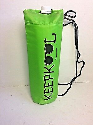 Keepkool Insulated Green Drinks  Cool Bag Carrier For  2L & 1.5L Bottles.