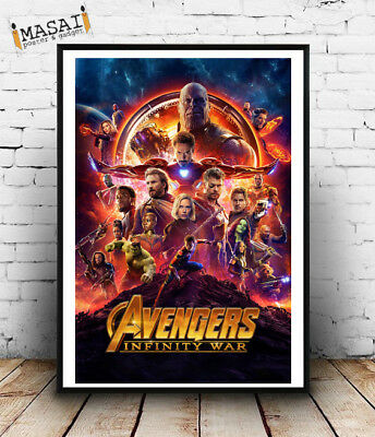 The Avengers - Infinity war-Poster,locandine,parete,manifesto,film,cinema,marvel