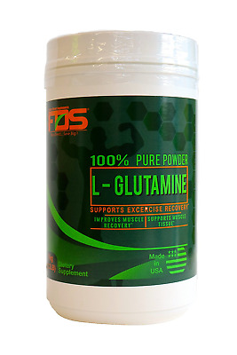 FDS L- GLUTAMINE Powder Muscle Recovery Formula for Intense Workouts 2.2LB(1Kg)