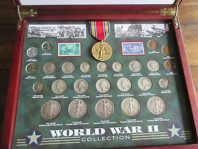 American Coin Treasures  Comprehensive World War ll Coin and Stamp collection