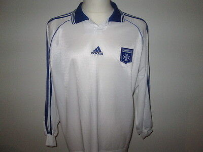 Maillot Neuf d' AUXERRE 1999-2000 Taille XL France Football re13 AJA shirt -*