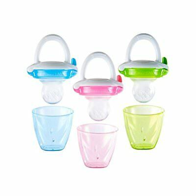Munchkin Silicone Baby Food Feeder, Colors May Vary 1 ea (2 Pack)