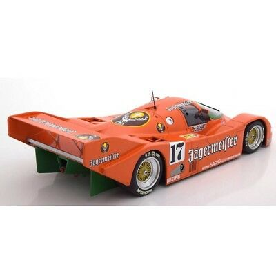 New 1/18 Minichamps 1986 Porsche 962C Jagermeister Spa 1000km #17 504pcs 911